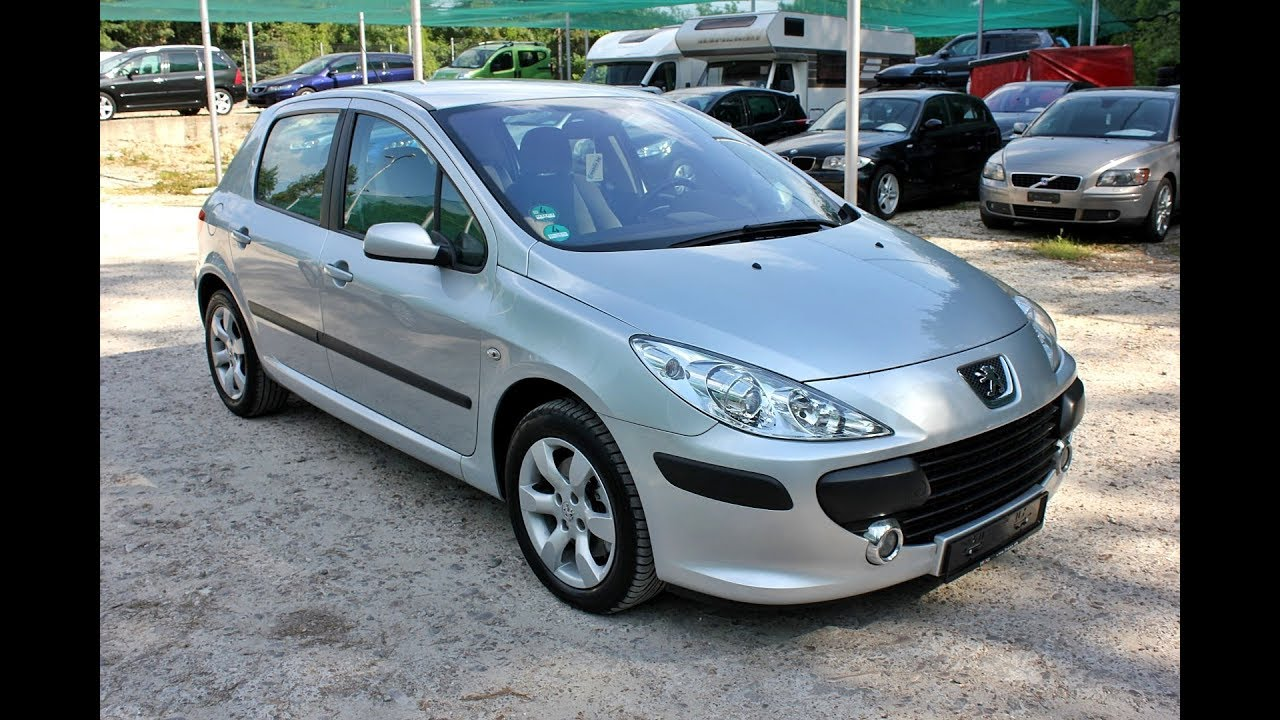 Peugeot 307 2.0HDi 136hp 2005 Hatchback - YouTube