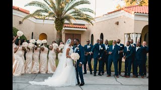 Best Wedding 12.14.19 Orlando. A British, Haitian & Jamaican Wedding @Holy Trinity Reception Center