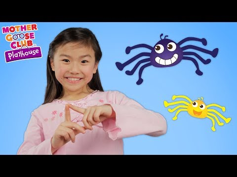 Itsy Bitsy Spider + The Blanket Monster | Dress Up Theater | Mother Goose Club Playhouse Kids Video