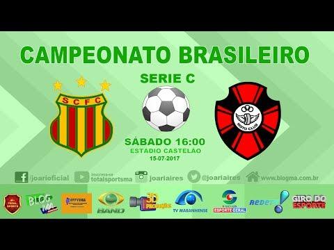 SAMPAIO 0X1 MOTO CLUB - BRASILEIRO SERIE C 2017