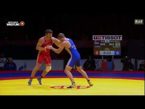 GR FINAL 96kg: Rustam Totrov (RUS) 9-0 Arkadiy Blyumin (UKR)