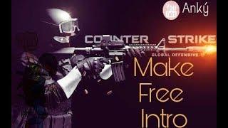 Counter Strike Go ( CS GO)  Make Gun Intro using Android Free.   YoBoyAnky