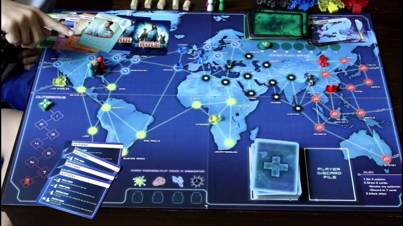pandemic board game review youtube