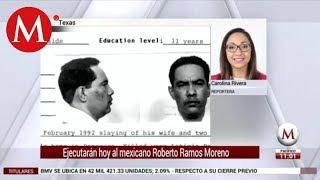 Ejecutarán hoy al mexicano Roberto Ramos Moreno