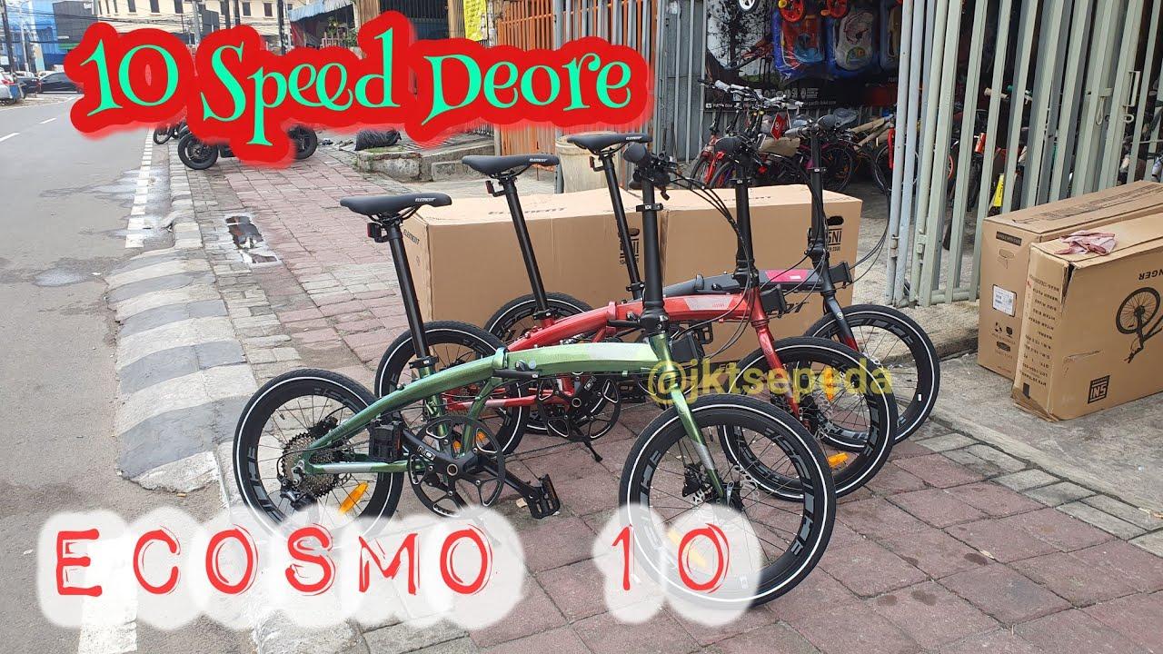 Sepeda Lipat ELEMENT ECOSMO 10 | Rainbow - YouTube
