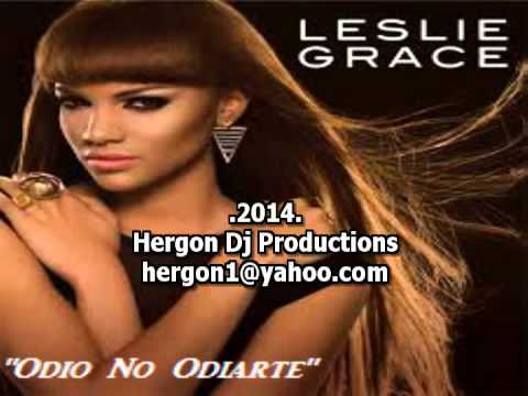 Leslie Grace - Odio No Odiarte (karaoke)[Con Voz Original]