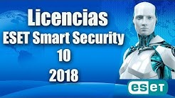 licencia para eset smart 10