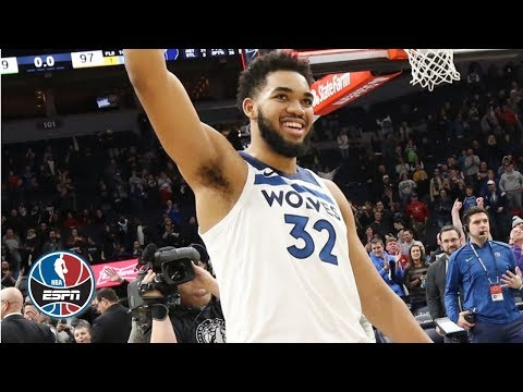 Karl-Anthony Towns' OT buzzer-beater, 16 points lead Timberwolves vs. Grizzlies | NBA Highlights
