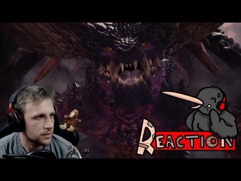 Kiwi Reacts : Monster Hunter World Third Fleet Trailer Reaction