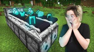 як зробити ферму алмазів в minecraft