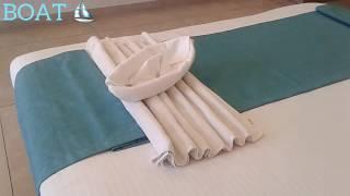 #1 Towel Boat ⛵