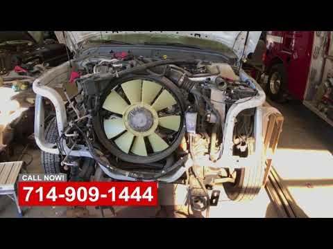 Commercial Truck Lift & Damage Repair Shop OC California