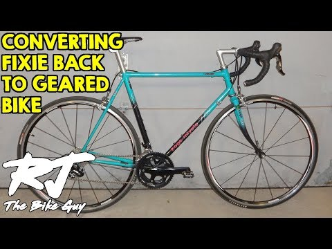 Converting Fixie Back To Geared Bike