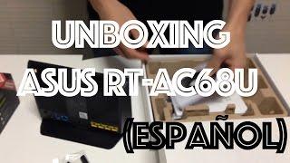 unboxing asus rt ac68u espaol