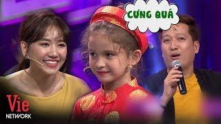 Cô bé PhilipPines cực đáng yêu nói tiếng Việt siêu đỉnh khiến Trường Giang, Hari Won mê mẩn