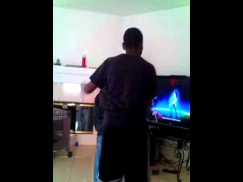 Ugly kid dancing to michael jackson