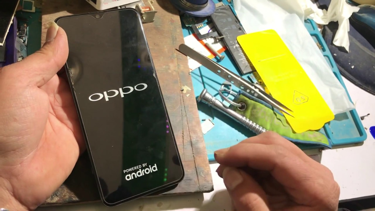 Oppo F9 Pro CPH1823 New Security Success With CM2 - Tara Mobile