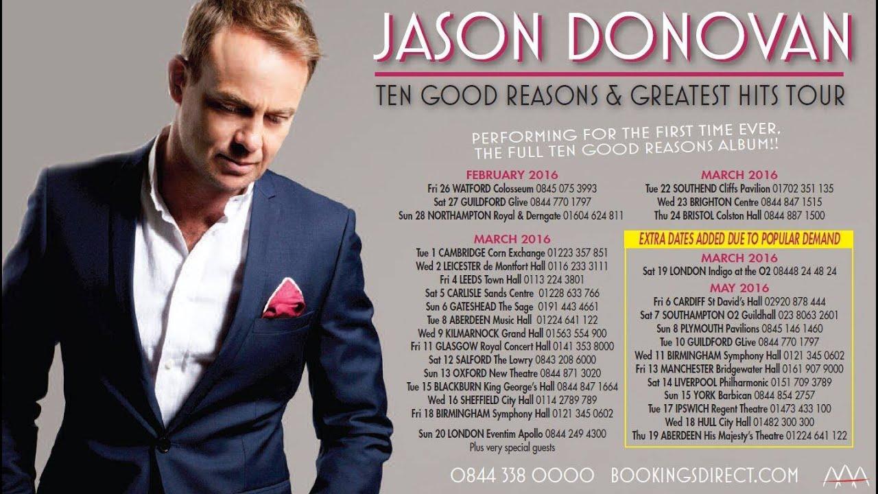 Jason Donovan Tour Dates