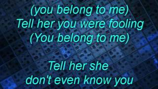 Carly Simon, You Belong To Me, w/lyrics