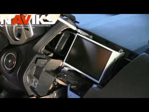 NAVIKS Nissan Murano Navigation Video Interface Installation PT #2