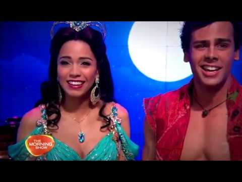 Aladdin Australia -  Ainsley Melham and Arielle Jacobs - A whole New world