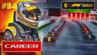 F1 2019 Career Mode Part 34: FIGHTING AT THE FRONT
