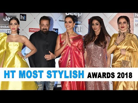 HT Most Stylish Awards 2018 Full Red Carpet Show | Deepika,S