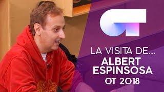 Visita de ALBERT ESPINOSA a la ACADEMIA | OT 2018 thumbnail