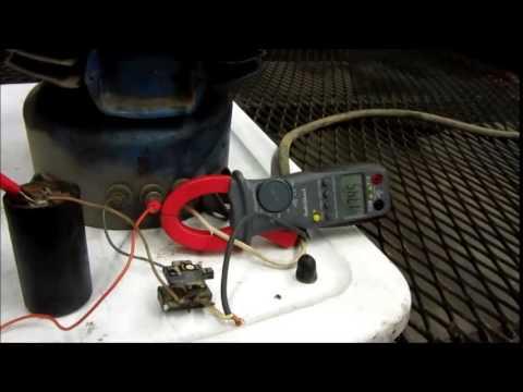 refrigerator vacuum pump. old kelvinator refrigerator compressor - un-freeze and test as vacuum pump