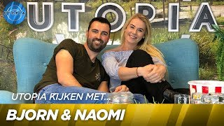 Utopia kijken met Bjorn & Naomi! | UTOPIA