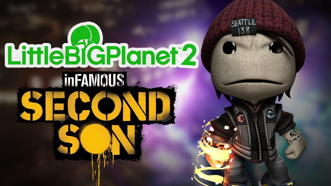 LittleBigPlanet 2 - inFAMOUS: Second Son DLC! (and more ...