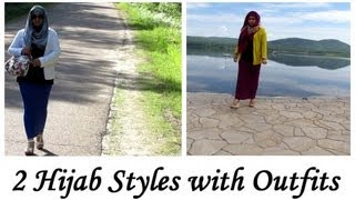 2 Hijab Styles with Outfits Thumbnail