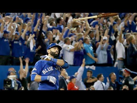 2015 ALDS Game 5 - Rangers Vs. Blue Jays (Jose Bautista Bat Flip Game!)