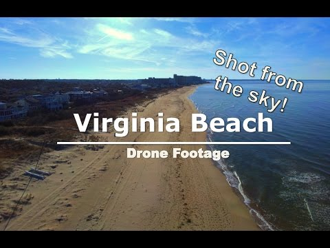 Virginia Beach Drone Footage- 4k