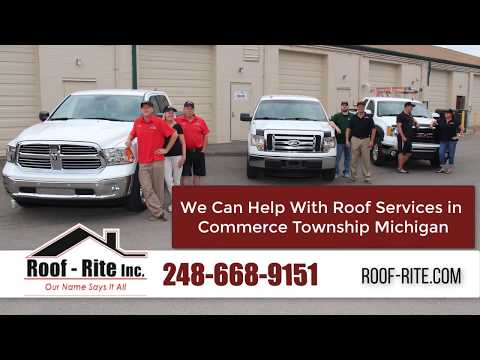 Commerce Township Roofing Contractors - Roof Rite (248) 668-9151
