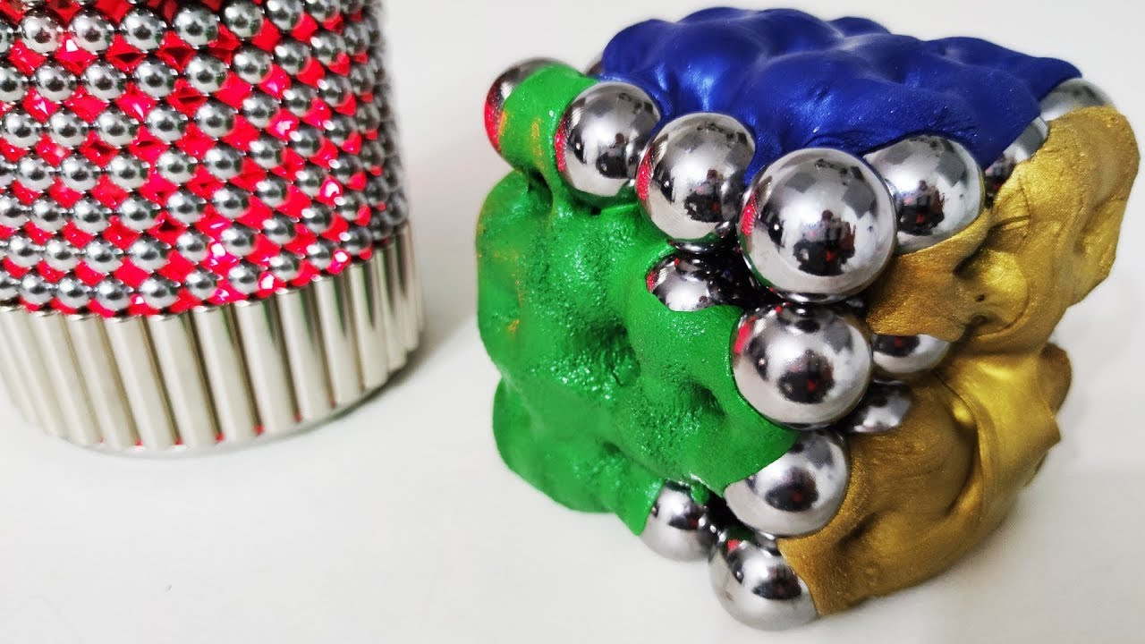 Magnet Satisfaction Extreme Lights and Putty | Magnetic Games