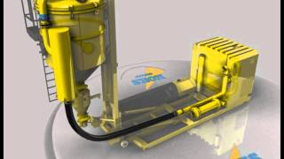 Dickinson Group Industrial Vacuum Services MegaVac Cyclone Loader Animation 1