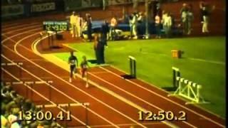 Said Aouita 1985. 5000m and 1500m World record