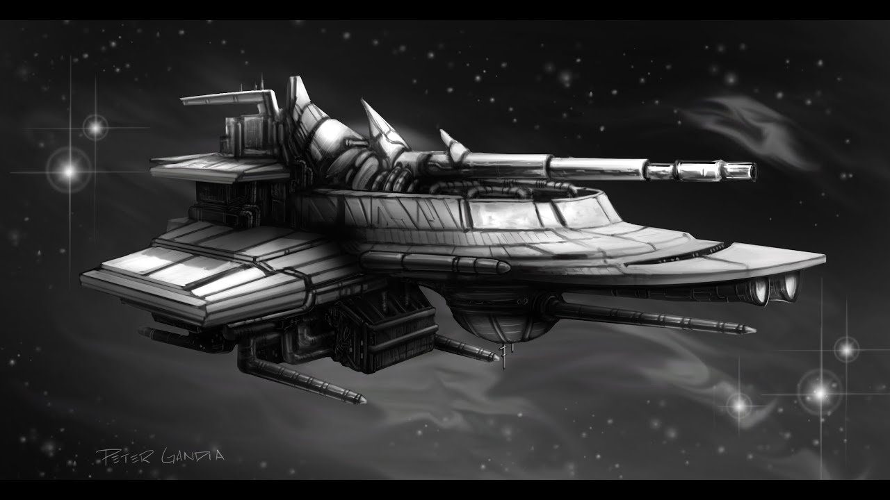 concept art starship design part 1 youtube