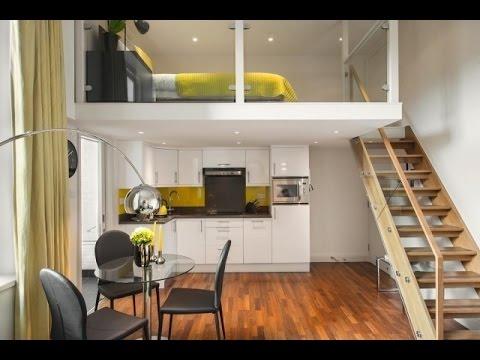 Fantastisch 1 Zimmer Wohnung Einrichten. 1 Zimmer Wohnung Gestalten. Design Ideen.