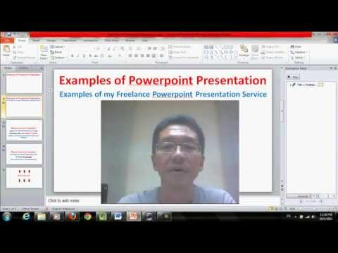 Examples Of Powerpoint Presentations