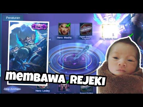 LUCKY BOX PAKE JARI ANAKU AUTO HOKII !! - Mobile Legend Indonesia