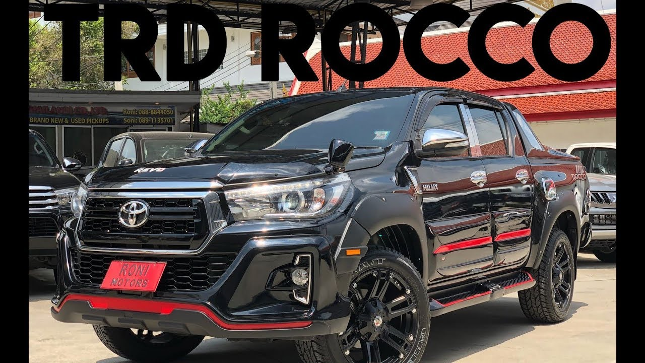Trd Hilux 2018 >> Toyota Hilux Revo Rocco TRD | Thailand Exporter - YouTube