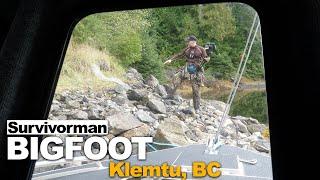 Survivorman Bigfoot   Episode 3   Klemtu BC   Les Stroud