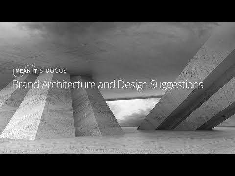 Dogus Group Brand Architecture & Design Suggestions - I Mean It Creative