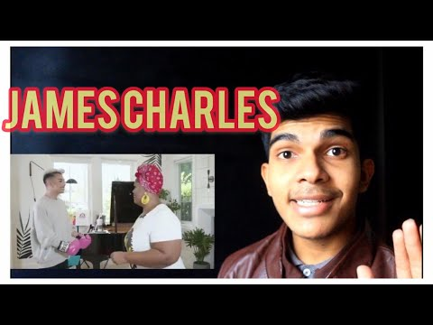 James Charles With Vocal Coach Reaction thumbnail