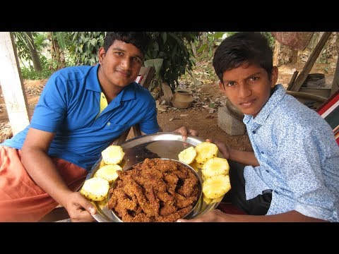 Village food factory / Chicken Fingers Cooking by my Family in my village / Crispy Chicken Fingers