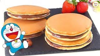 Kid's Favorite Dora Cakes / Dorayaki / Dora Pancakes recipe by Tiffin Box | Doreamon Pancake Recipe