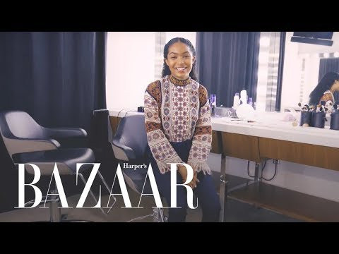 Yara Shahidi Walks Us Through A Photoshoot  The Last 5  Harper's BAZAAR