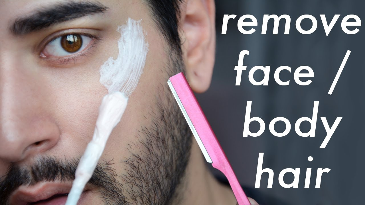 How To Remove Annoying Cheek Body Hairs Hair Removal Tips